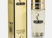 ISO Professional Gold Flakes Hair Serum