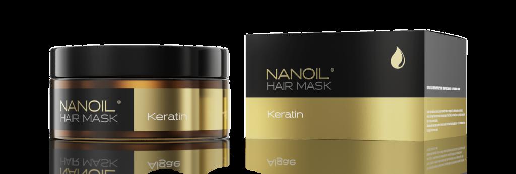 Hit von Nanoil - Haarmaske mit Keratin